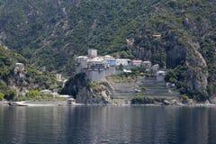 Dionysiou monastery Royalty Free Stock Photo