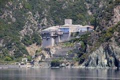 Dionysiou monastery Stock Photo