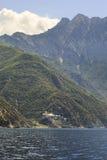 Dionysiou monastery. Holy Athos. Stock Image