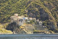 Dionysiou monastery. Stock Image