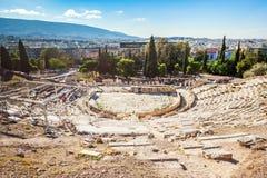 Dionysus,上城剧院  库存图片