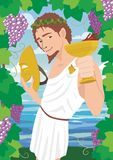 Dionysus Royalty Free Stock Photo