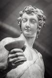 Dionysus Bacchus Wine statue portrait.  Royalty Free Stock Photos