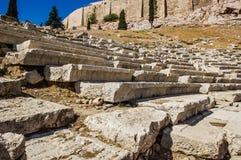 Dionysus Eleuthereus剧院  库存图片