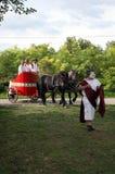 Dionysus festivities in Andautonija, Zagreb Stock Photos
