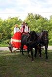 Dionysus festivities in Andautonija, Zagreb Royalty Free Stock Photos