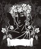 Dionysus logotype Stock Afbeeldingen