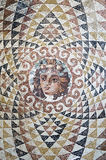 Dionysus mosaic. A mosaic of the dionysus who is the god of wine in ancient greek Stock Image