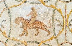 Dionysus riding a tiger Stock Photography