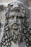 Dionysus on the sarcophagus wall Stock Photography