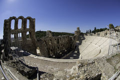 Dionysus theater in Athens. Dionysus  theater in Athens, Greece Royalty Free Stock Image