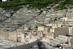 Dionysus Theatre in the southern slope of the Acro Royalty Free Stock Photography