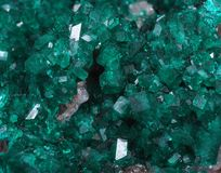 Dioptase stockfotos