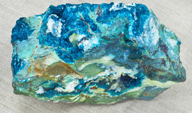 Dioptase Royalty Free Stock Photos
