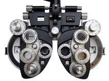 Diopter dell'optometrista. Fotografie Stock Libere da Diritti