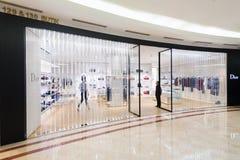 Dior商店在吉隆坡 库存照片