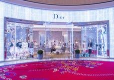 Dior商店在拉斯维加斯 免版税库存图片