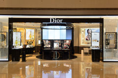 Dior cosmetics boutique interior Stock Images
