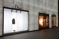 Dior fashion store Stock Photo