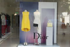 Dior luxury boutique Stock Photos
