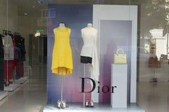 Dior luxury boutique Stock Photos