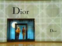 Dior - marca de fábrica de lujo de la manera Imágenes de archivo libres de regalías