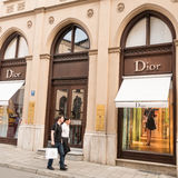 Dior munich Royalty Free Stock Images