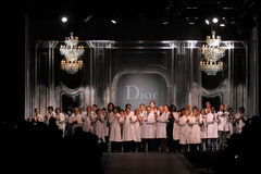 Dior - Paris-Art und Weisewoche Stockfoto