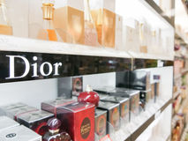 Dior perfumes Stock Images