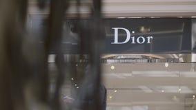 Dior Retail Store archivi video