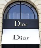 Dior Shop imagem de stock royalty free