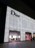 Dior-Shop Nagoya Japan Stockbild