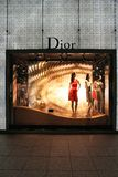 Dior shop Royalty Free Stock Image