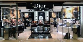 Dior shoppar i Hong Kong Royaltyfri Foto