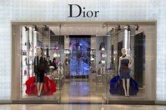 Dior store Stock Photo