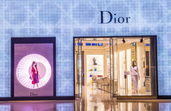 Dior store Stock Photos