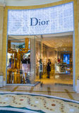 Dior store Royalty Free Stock Image