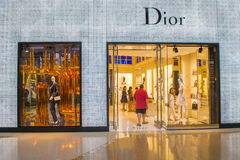 Dior store Royalty Free Stock Photo