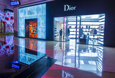 Dior store Royalty Free Stock Images