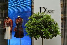 Dior store Royalty Free Stock Photography