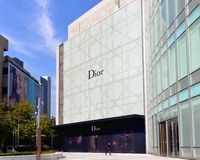 Dior store in Shanghai, China Stock Photos