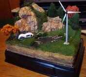 diorama Stockbild