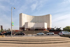 Diorama Battle of Kursk. Belgorod. Russia Royalty Free Stock Photography