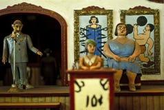 Diorama di carnevale Fotografie Stock