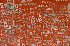 Dios, alegría, paz, y amor Fotos de archivo libres de regalías