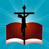 Dios amó tan la palabra stock de ilustración