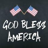 Dios bendice América Fotografía de archivo libre de regalías