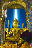 Dios Brahma en la capilla de Erawan, Bangkok Fotografía de archivo libre de regalías
