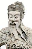 Dios chino del templo Foto de archivo libre de regalías