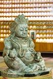 Dios chino, la diosa de la fortuna Multimillonario de la punzada (de Cai Shen) fotografía de archivo